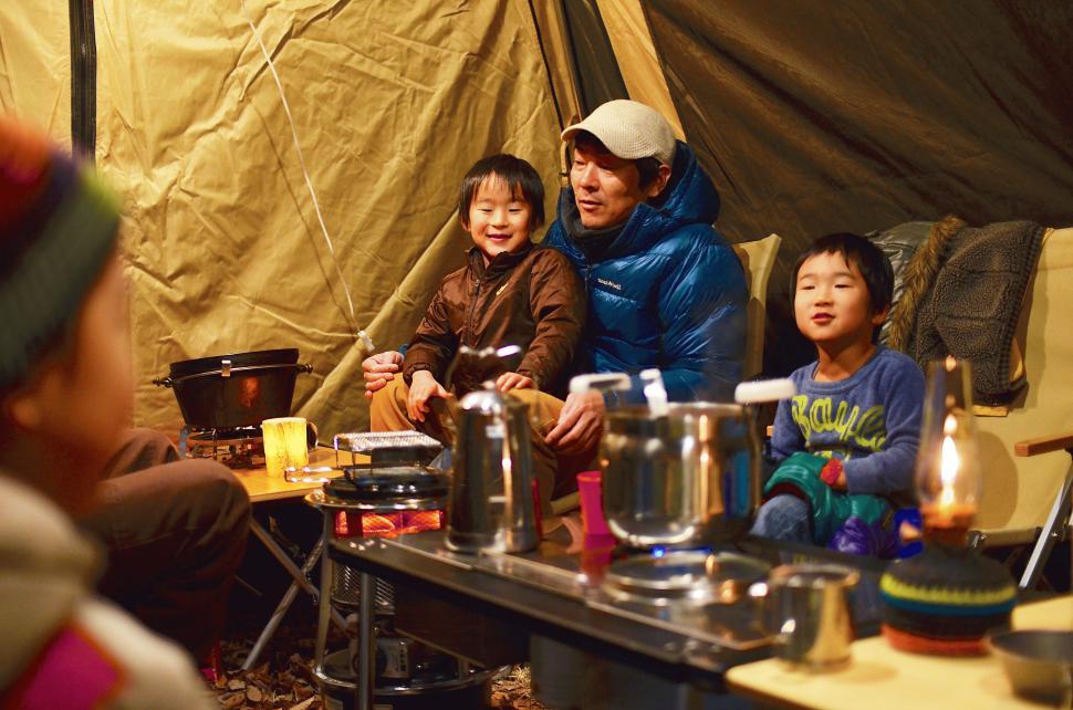 家族と一緒に全国を旅行できて、みんなで同じ思い出を共有できるのは本当に生きがいです。:写真