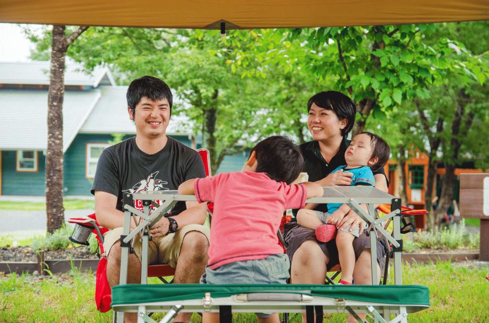 時間を気にすることなく、家族とのふれあいを常に感じられます:写真